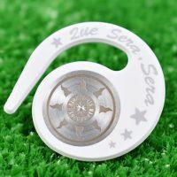 ハングマーカー(ゴルフマーカー)ケ・セラ・セラシリーズ WHITE