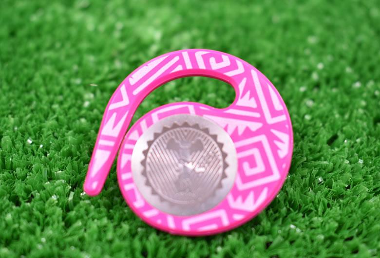 ハングマーカー(ゴルフマーカー)ニーケーシリーズ PINK