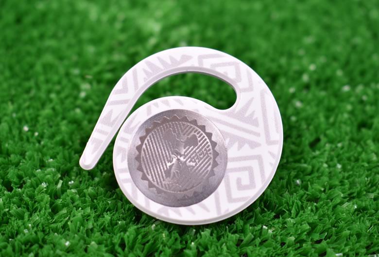 ハングマーカー(ゴルフマーカー)ニーケーシリーズ WHITE